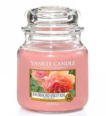 Rose Succulente - Moyenne Jarre Yankee Candle - 1