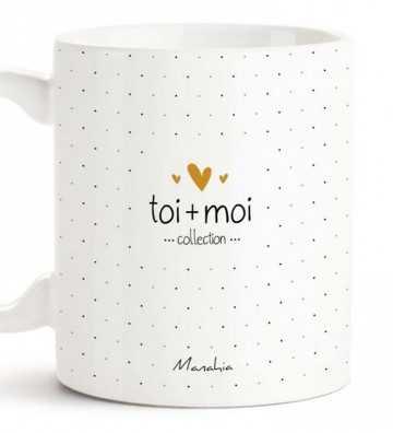 Je t'aime Plus que le Chocolat - Mug