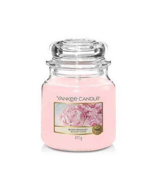 Bouquet Poudré - Moyenne Jarre Yankee Candle - 1