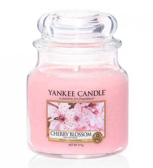 Fleur de Cerisier - Moyenne Jarre Yankee Candle - 1