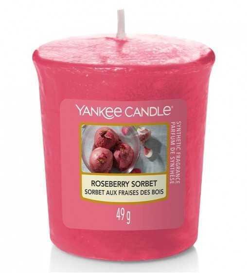 Sorbet aux Fraises des Bois - Votive Yankee Candle - 1