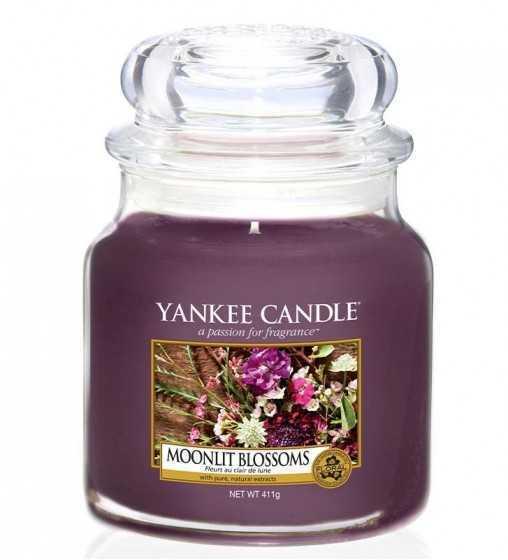 Fleurs au Clair de Lune - Moyenne Jarre Yankee Candle - 1