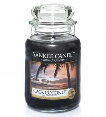 Noix de coco noire - Grande Jarre Yankee Candle - 1