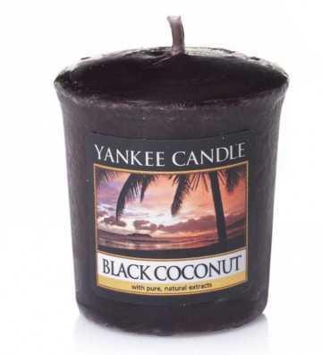 Noix de coco noire - Votive Yankee Candle - 1