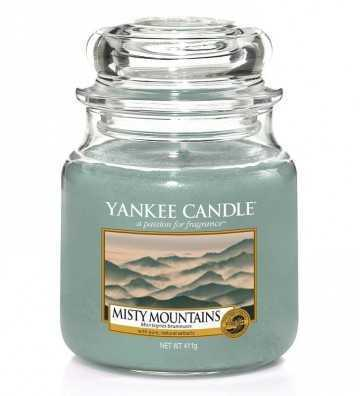 Montagnes Brumeuses - Moyenne Jarre Yankee Candle - 1