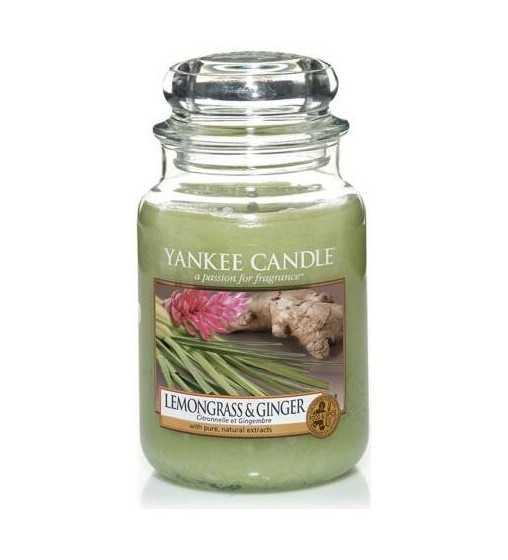 Citronnelle et Gingembre - Grande Jarre Yankee Candle - 1
