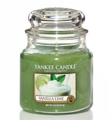 Vanille Citron Vert - Moyenne Jarre Yankee Candle - 1