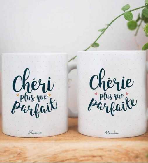 Chéri plus que Parfait - Mug