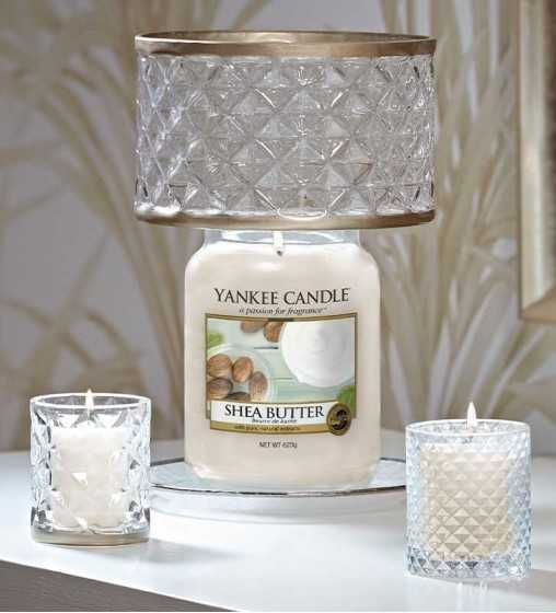 Photophore Verre et Doré - Langham Yankee Candle - 2
