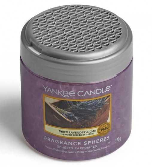 Lavande Séchée et Chêne - Sphère Parfumée Yankee Candle - 5